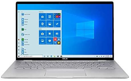 "2021 ASUS 14"" FHD Touchscreen Laptop computer Laptop, AMD Ryzen 5-3500U CPU, 8GB RAM, 1TB SSD, Backlit Keyboard, HD Webcam, HD Audio, AMD Radeon Vega 8 Graphics, Win 10, Silver, 32GB SnowBell USB Card 2"