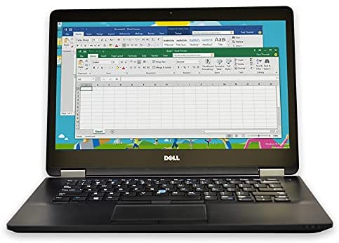 Dell Latitude E7450 14in HD Excessive Efficiency Extremely Ebook Enterprise Laptop computer NoteBook (Intel Twin Core i5 5300U, 8GB Ram, 256GB Strong State SSD, Digital camera, HDMI, WIFI) Win 10 Professional (Renewed) 1