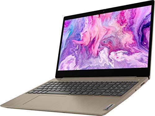 "2021 Lenovo IdeaPad 3 15.6"" HD Touchscreen Laptop, Intel Core i3-1005G1 Processor, 8GB RAM, 256GB SSD, HDMI, Windows 10 S, Almond, W/ IFT Accessories 1"