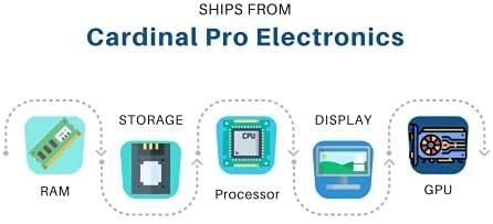 "Dell Flagship Inspiron 3000 3502 15 Laptop 15.6"" HD Narrow Border Display Intel Celeron N4020 Processor 4GB RAM 128GB SSD Intel UHD Graphics 600 USB3.2 WIFI5 Win10 Black 7"